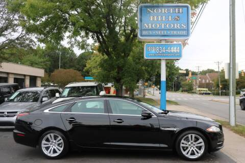 2011 Jaguar XJL for sale at North Hills Motors in Raleigh NC