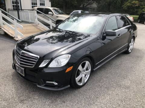 2011 Mercedes-Benz E-Class for sale at Auto Cars in Murrells Inlet SC