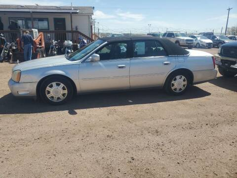 2003 Cadillac DeVille for sale at PYRAMID MOTORS - Pueblo Lot in Pueblo CO