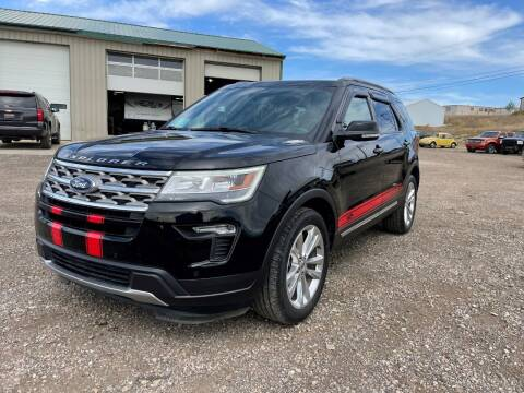 2018 Ford Explorer for sale at Northern Car Brokers in Belle Fourche SD