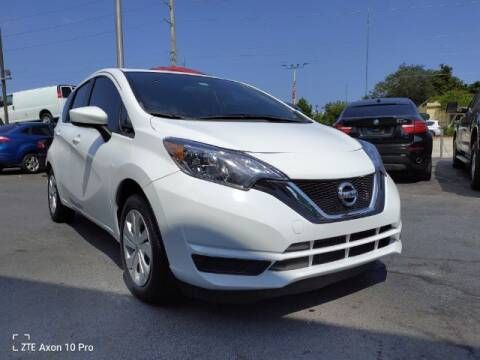 2017 Nissan Versa Note for sale at Start Auto Liquidation Center in Miramar FL