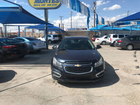 2016 Chevrolet Cruze Limited for sale at Autos Montes in Socorro TX