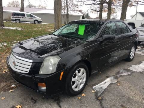 2007 Cadillac CTS for sale at Antique Motors in Plymouth IN