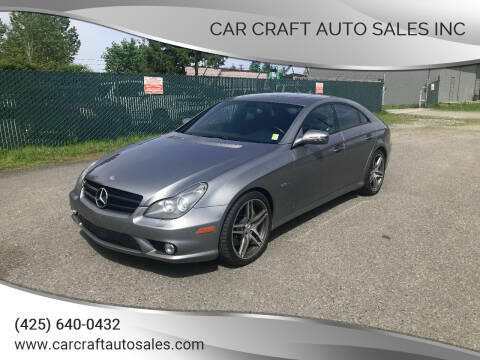 2011 Mercedes-Benz CLS for sale at Car Craft Auto Sales Inc in Lynnwood WA