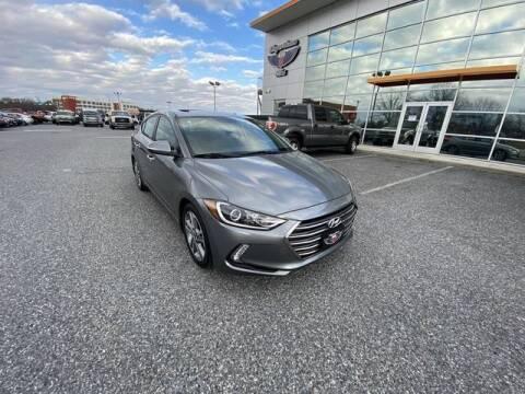 2017 Hyundai Elantra for sale at King Motors featuring Chris Ridenour in Martinsburg WV