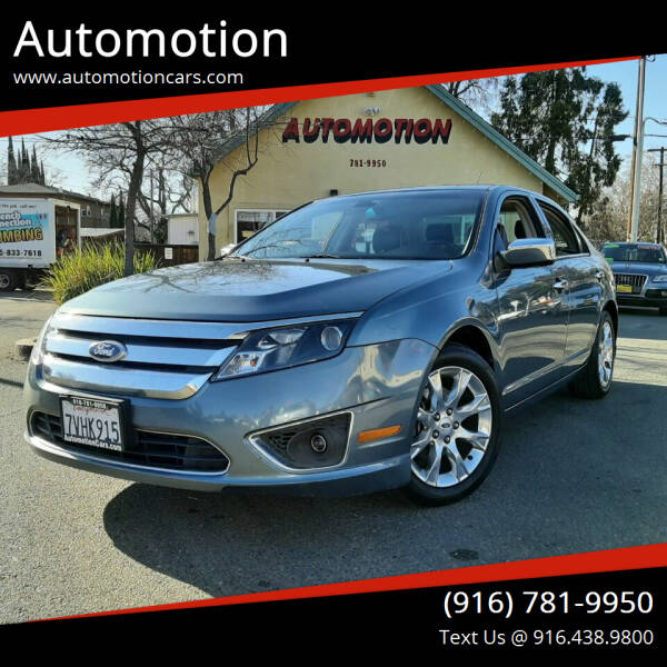 2011 Ford Fusion for sale at Automotion in Roseville CA
