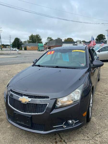2011 Chevrolet Cruze for sale at Top Auto Sales in Petersburg VA