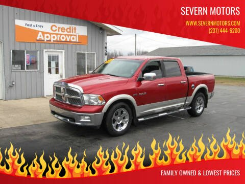 2010 Dodge Ram Pickup 1500 for sale at Severn Motors in Cadillac MI