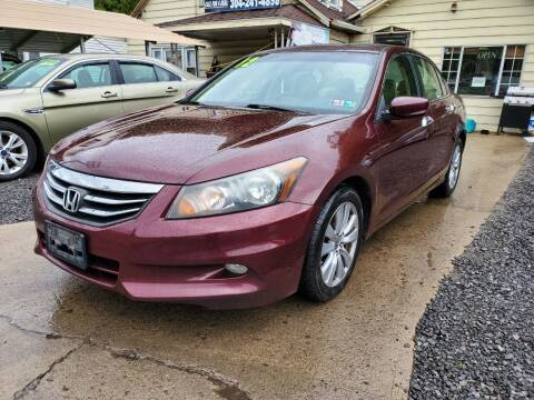 2012 Honda Accord for sale at Auto Town Used Cars in Morgantown WV