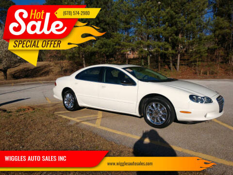 2003 Chrysler Concorde for sale at WIGGLES AUTO SALES INC in Mableton GA