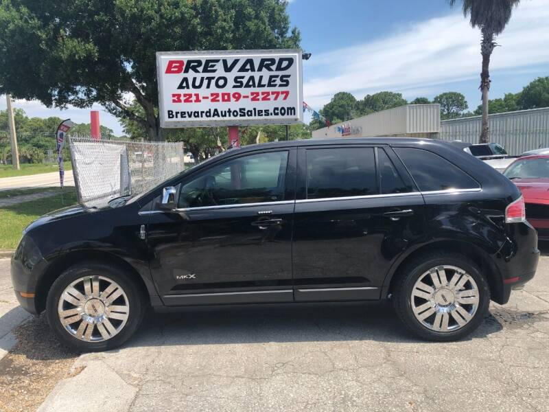 2008 Lincoln MKX for sale at Brevard Auto Sales in Palm Bay FL
