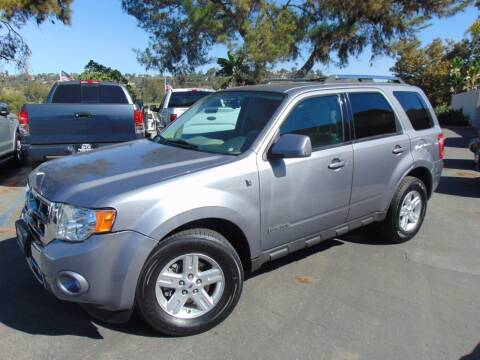 2008 Ford Escape Hybrid for sale at So Cal Performance in San Diego CA