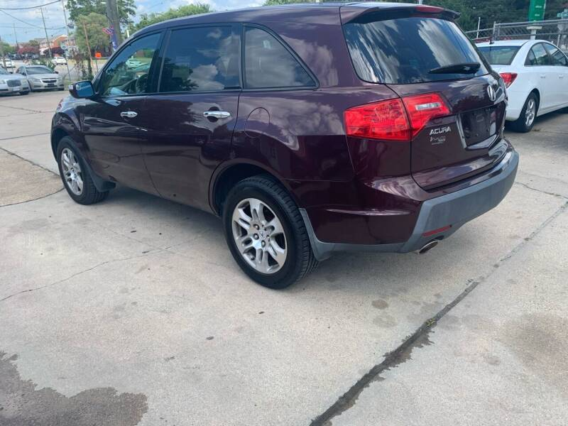 2009 Acura MDX for sale at Whites Auto Sales in Portsmouth VA