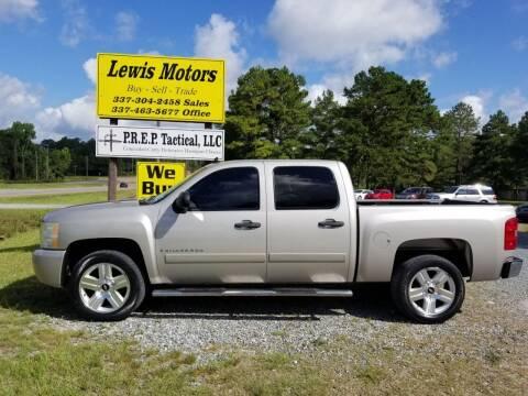 2008 Chevrolet Silverado 1500 for sale at Lewis Motors LLC in Deridder LA