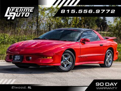 1997 Pontiac Firebird for sale at Lifetime Auto in Elwood IL