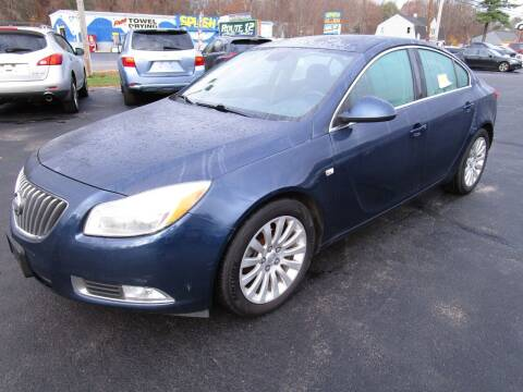 2011 Buick Regal for sale at Route 12 Auto Sales in Leominster MA