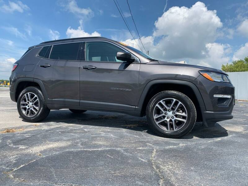 2017 Jeep Compass for sale at Access Auto Wholesale & Leasing in Lowell IN