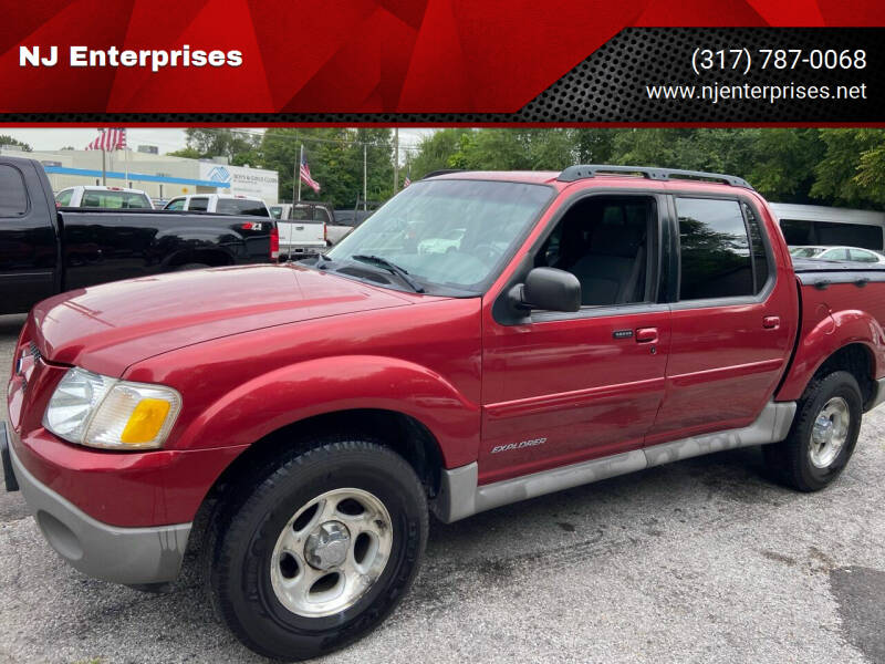 2002 Ford Explorer Sport Trac for sale at NJ Enterprises in Indianapolis IN