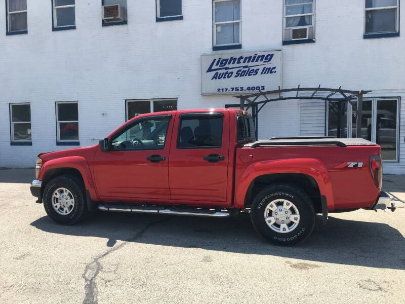 2005 Chevrolet Colorado for sale at Lightning Auto Sales in Springfield IL