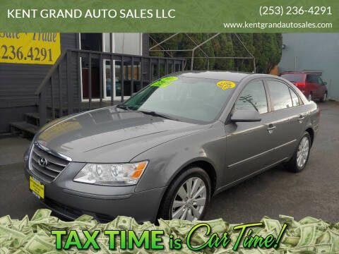 2010 Hyundai Sonata for sale at KENT GRAND AUTO SALES LLC in Kent WA