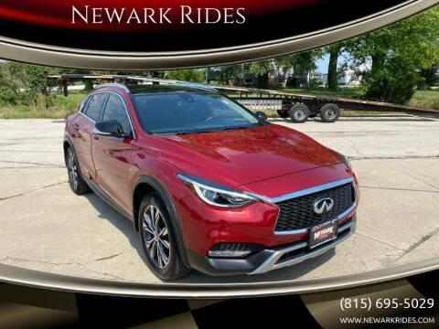 2017 Infiniti QX30 for sale at Newark Rides in Newark IL