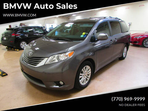 2013 Toyota Sienna for sale at BMVW Auto Sales in Union City GA