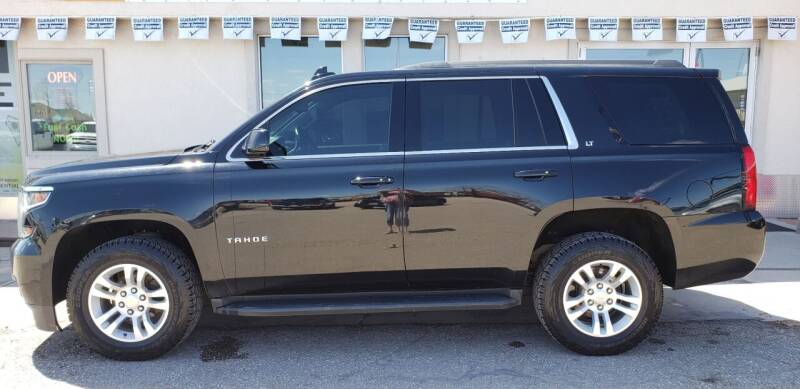 2015 Chevrolet Tahoe for sale at HomeTown Motors in Gillette WY