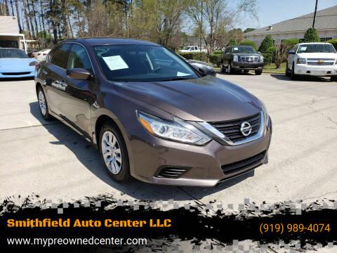 2016 Nissan Altima for sale at Smithfield Auto Center LLC in Smithfield NC