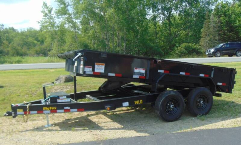2022 Big Tex 14FT Dump Trailer for sale at Greg's Auto Sales in Searsport ME