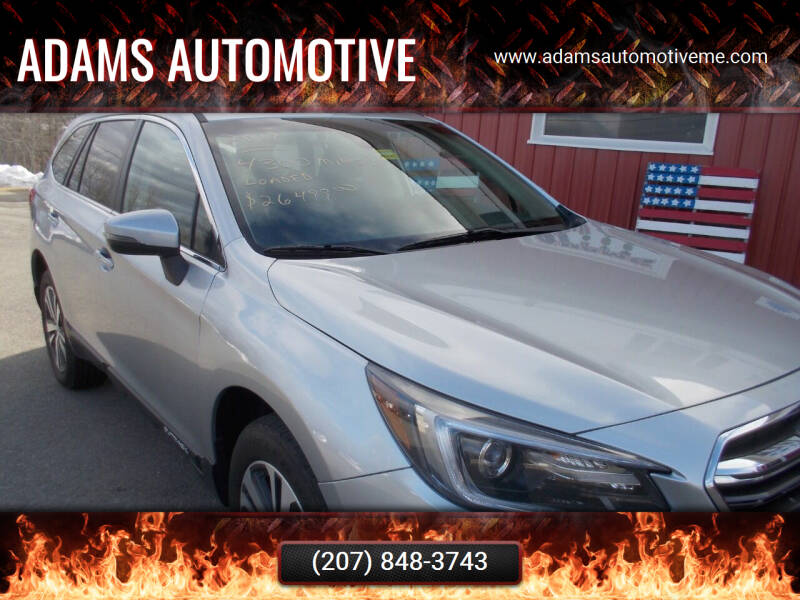 2019 Subaru Outback for sale at Adams Automotive in Hermon ME