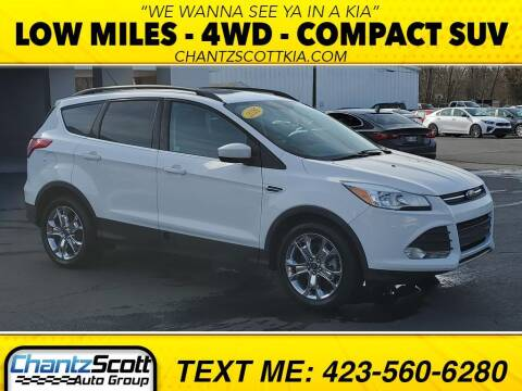 2016 Ford Escape for sale at Chantz Scott Kia in Kingsport TN