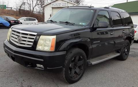 2005 Cadillac Escalade for sale at Bik's Auto Sales in Camp Hill PA