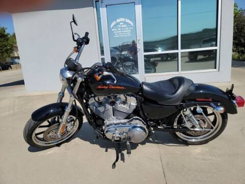 2013 Harley-Davidson XL883L Sportster 883 SuperLow for sale at Kell Auto Sales, Inc in Wichita Falls TX