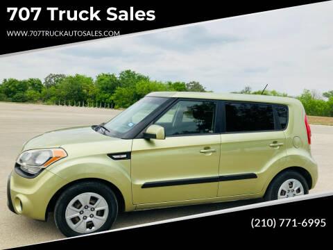 2012 Kia Soul for sale at 707 Truck Sales in San Antonio TX