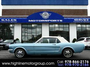 1965 Ford Mustang for sale at Highline Group Motorsports in Lowell MA