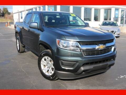 2020 Chevrolet Colorado for sale at AUTO POINT USED CARS in Rosedale MD