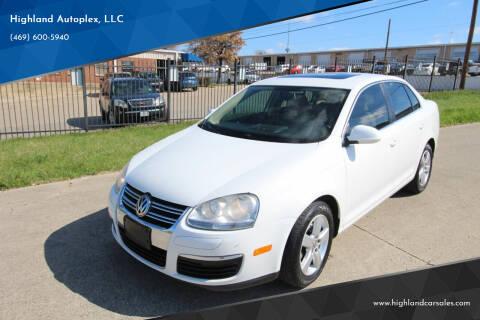 2009 Volkswagen Jetta for sale at Highland Autoplex, LLC in Dallas TX