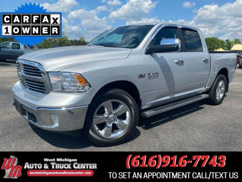 2015 RAM Ram Pickup 1500 for sale at West Michigan Auto and Truck Center in Cedar Springs MI