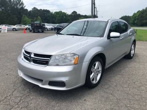 2012 Dodge Avenger for sale at CVC AUTO SALES in Durham NC