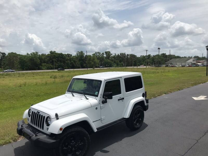 2015 Jeep Wrangler for sale at ICar Florida in Lutz FL