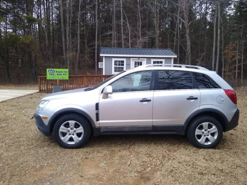 2014 Chevrolet Captiva Sport for sale at Route 150 Auto LLC in Lincolnton NC