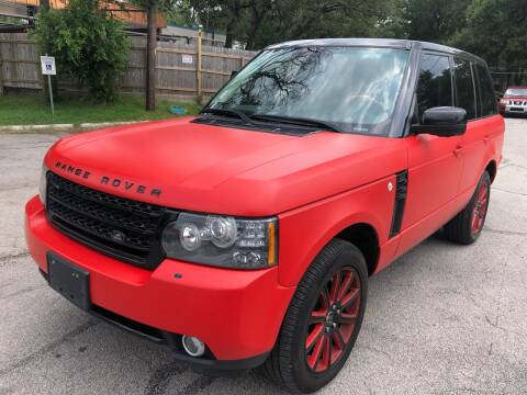 2011 Land Rover Range Rover for sale at Royal Auto LLC in Austin TX