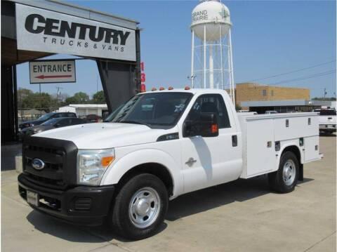 2011 Ford F-350 Super Duty for sale at CENTURY TRUCKS & VANS in Grand Prairie TX