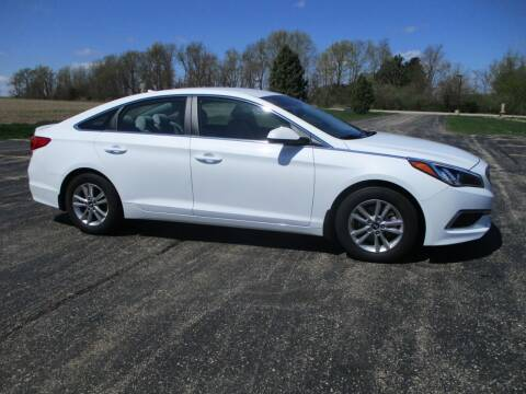2017 Hyundai Sonata for sale at Crossroads Used Cars Inc. in Tremont IL