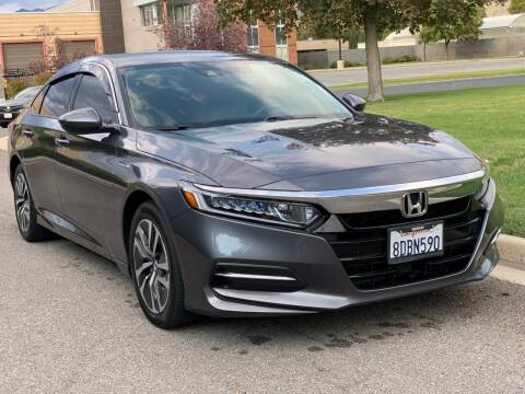 2018 Honda Accord Hybrid for sale at A.I. Monroe Auto Sales in Bountiful UT