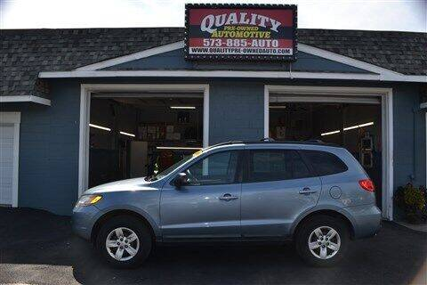 2009 Hyundai Santa Fe for sale at Quality Pre-Owned Automotive in Cuba MO