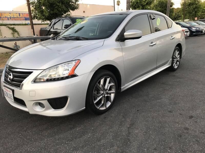 2013 Nissan Sentra for sale at MIKE AHWAZI in Santa Ana CA