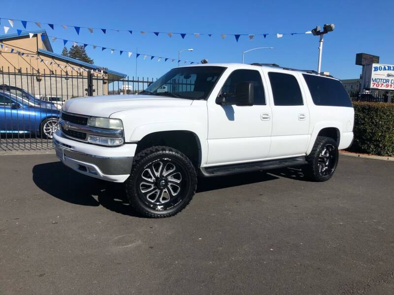 2003 Chevrolet Suburban for sale at BOARDWALK MOTOR COMPANY in Fairfield CA