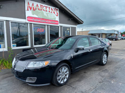 2011 Lincoln MKZ for sale at Martins Auto Sales in Shelbyville KY