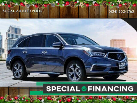 2018 Acura MDX for sale at SoCal Auto Experts in Culver City CA